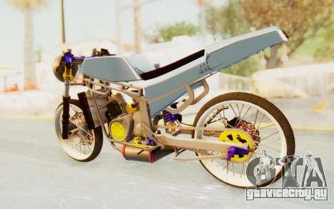 Kawasaki Ninja 150S Thailock для GTA San Andreas вид слева