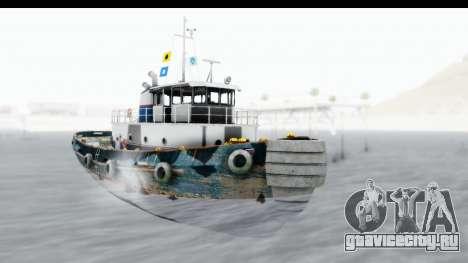 GTA 5 Buckingham Tug Boat v1 для GTA San Andreas