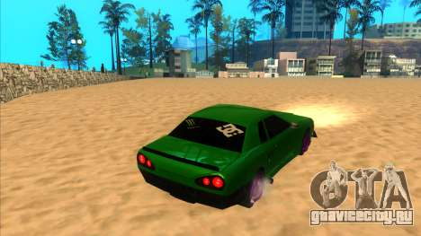 Elegy 1.3 by Mr.Phantom для GTA San Andreas вид слева