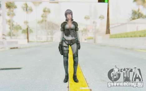 Ghost In The Shell First Assautl Motoko v2 для GTA San Andreas второй скриншот