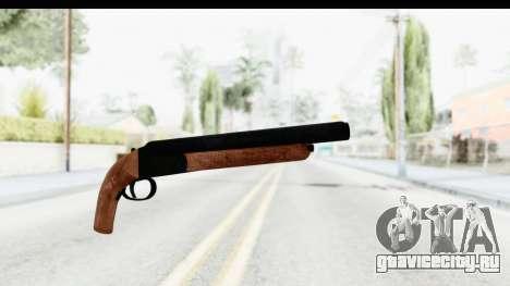 GTA 5 Double Barrel Sawn-Off для GTA San Andreas