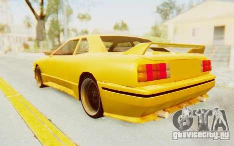 Elegy E30 для GTA San Andreas вид сзади слева