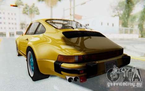 Porsche 911 Turbo 3.2 Coupe (930) 1985 для GTA San Andreas вид слева