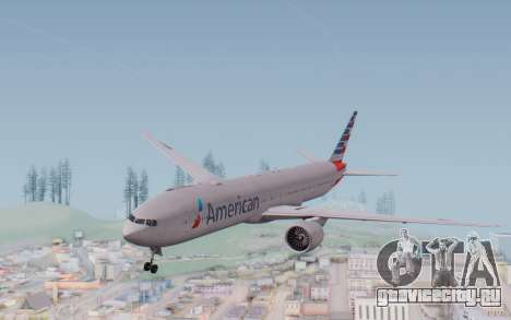 Boeing 777-300ER ANA JA755A - Gundam для GTA San Andreas