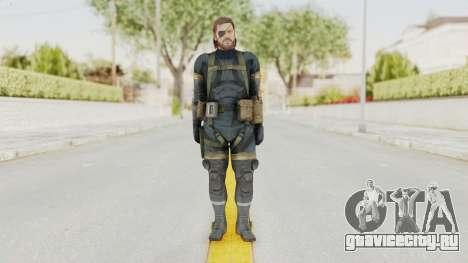 MGSV Phantom Pain Big Boss SV Sneaking Suit v2 для GTA San Andreas второй скриншот