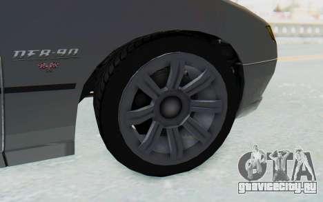 GTA 5 Imponte DF8-90 IVF для GTA San Andreas вид сзади