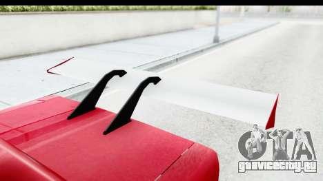 Greenwood Racing для GTA San Andreas вид изнутри