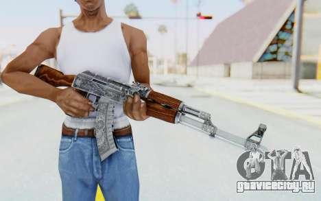 CS:GO - AK-47 Cartel для GTA San Andreas третий скриншот