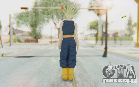 Dragon Ball Xenoverse Future Trunks Shirt SSJ для GTA San Andreas третий скриншот