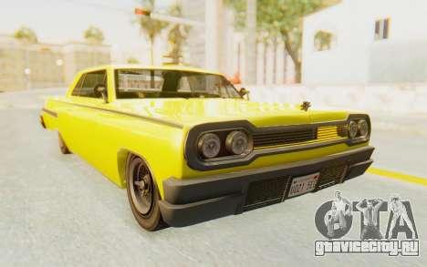 GTA 5 Declasse Voodoo для GTA San Andreas