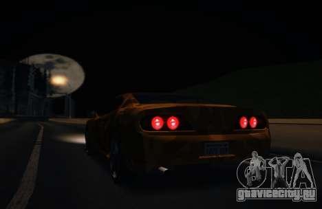 Камуфляж для Jester для GTA San Andreas вид сзади слева