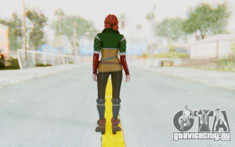 The Witcher 3 - Triss Merigold Default для GTA San Andreas третий скриншот