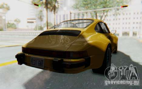 Porsche 911 Turbo 3.2 Coupe (930) 1985 для GTA San Andreas вид справа