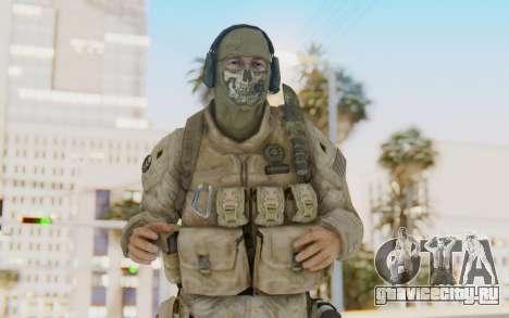 CoD MW2 Ghost Model v1 для GTA San Andreas