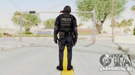 Dead Rising 2 Chucky Swat Outfit для GTA San Andreas третий скриншот