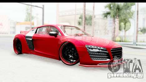Audi R8 5.2 V10 Plus LB Walk для GTA San Andreas