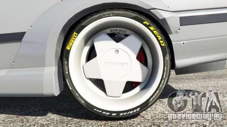 BMW M3 (E36) Street Custom для GTA 5 вид сзади справа