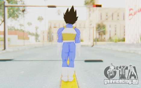Dragon Ball Xenoverse Vegeta Android Saga для GTA San Andreas третий скриншот