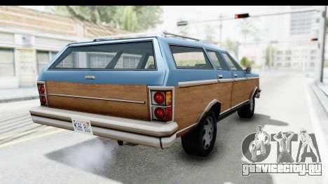 Pontiac Bonneville Safari from Bully для GTA San Andreas вид слева
