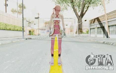 FinalFantasy XIII-2 - Serah для GTA San Andreas третий скриншот