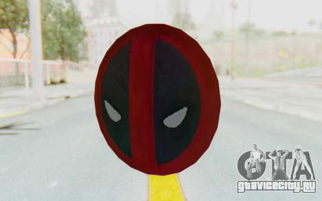 Deadpool Shield v2 для GTA San Andreas