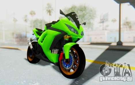 Kawasaki Ninja 250 Abs Streetrace для GTA San Andreas