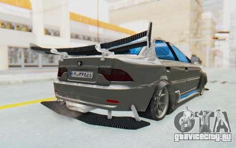 Ikco Soren Full Sport для GTA San Andreas вид сзади слева