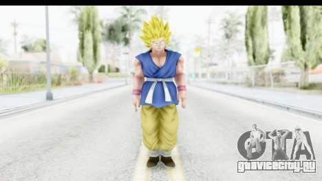 Dragon Ball Xenoverse Goku GT Adult SSJ2 для GTA San Andreas второй скриншот