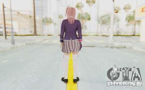 Dead Or Alive 5 Last Round - Honoka для GTA San Andreas третий скриншот