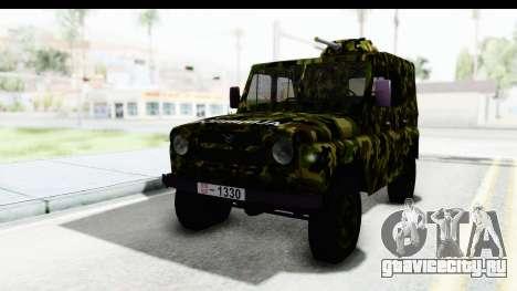 УАЗ-469 Военная полиция Сербии для GTA San Andreas