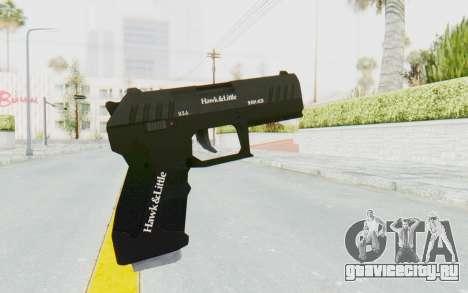 GTA 5 Hawk & Little Combat Pistol для GTA San Andreas третий скриншот