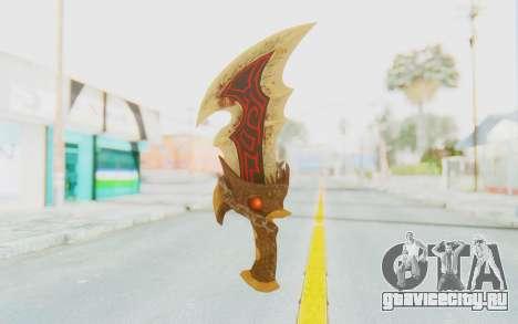 Blade of Athena для GTA San Andreas второй скриншот