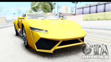 GTA 5 Pegassi Reaper v2 IVF для GTA San Andreas вид сзади