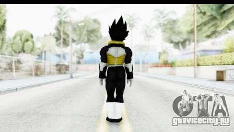 Dragon Ball Xenoverse Vegeta Timebreaker для GTA San Andreas третий скриншот
