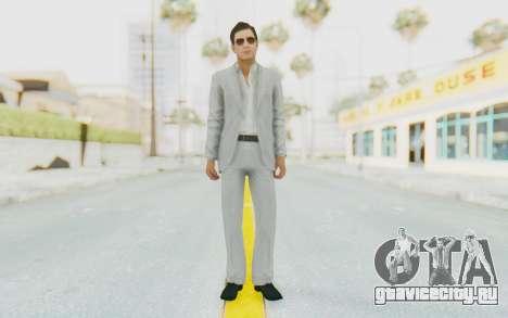 Mafia 2 - Vito Scaletta Madman Suit White для GTA San Andreas второй скриншот