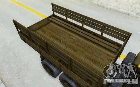 Praga V3S для GTA San Andreas вид сзади
