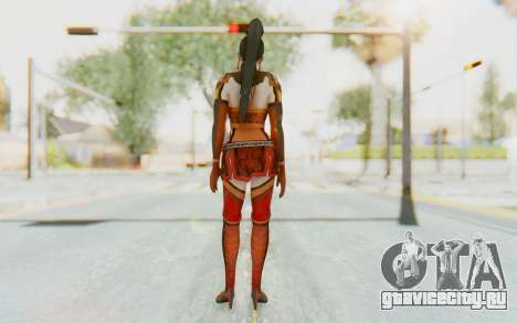 Dynasty Warriors 7 - Lian Shi v1 для GTA San Andreas третий скриншот