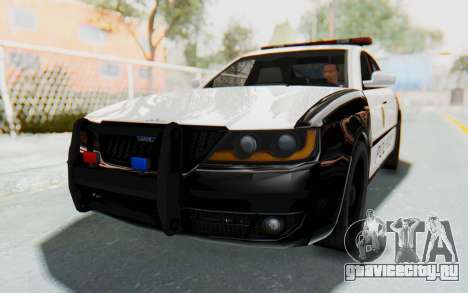 ASYM Desanne XT Pursuit v3 для GTA San Andreas вид справа