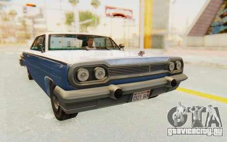 GTA 5 Declasse Voodoo Alternative v2 PJ для GTA San Andreas вид справа