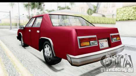 Ford Fairmont from Bully для GTA San Andreas вид слева