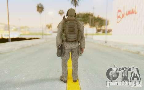CoD MW2 Ghost Model v1 для GTA San Andreas третий скриншот