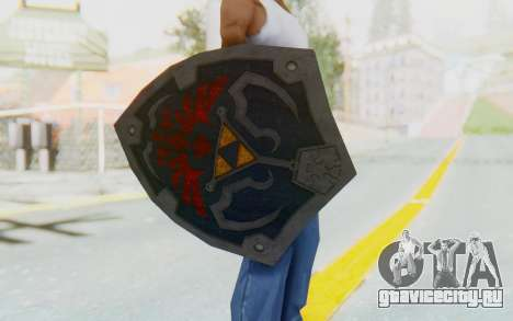 Hylian Shield HD from The Legend of Zelda для GTA San Andreas третий скриншот