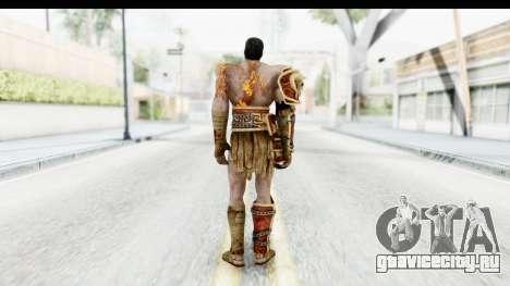 God of War 3 - Deimos для GTA San Andreas третий скриншот