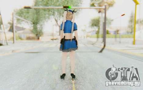 DoA 5: LR - Marie Rose Police v2 для GTA San Andreas третий скриншот