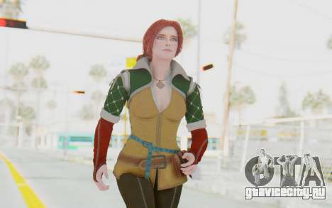 The Witcher 3 - Triss Merigold Default для GTA San Andreas