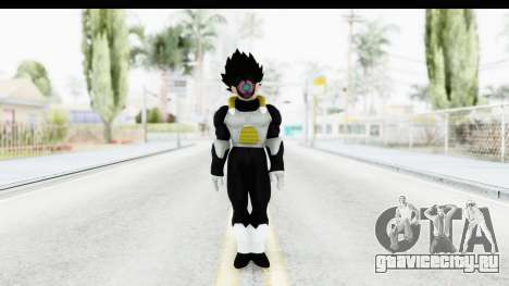 Dragon Ball Xenoverse Vegeta Timebreaker для GTA San Andreas второй скриншот
