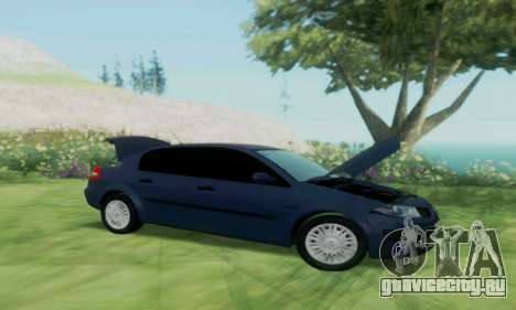 Renault Megane 2004 для GTA San Andreas вид справа