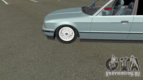 BMW 535i Gang для GTA San Andreas вид изнутри