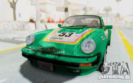 Porsche 911 Turbo 3.2 Coupe (930) 1985 для GTA San Andreas вид изнутри