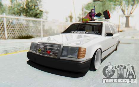 Mercedes-Benz W124 Stance Works для GTA San Andreas вид справа